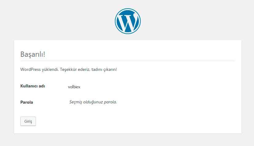 wordpress-kurulumu-kullanici-bilgileri