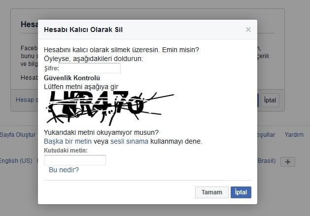 facebook-hesap-kapatma