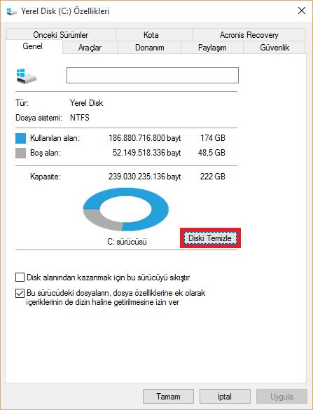 Windows old Silmek Zararlı mı