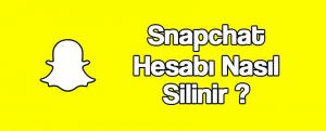 snapchat-hesap-silme