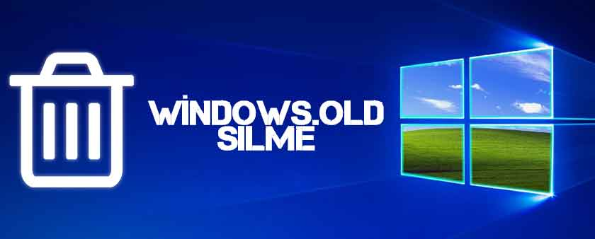 Windows old Silme 3 Yöntemle Önceki Windows Sürümünden Kurtulun