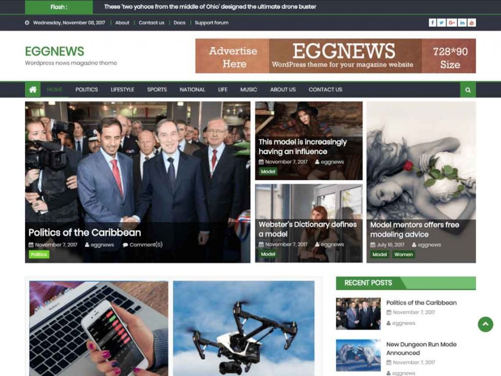 eggnews-wordpress-tema