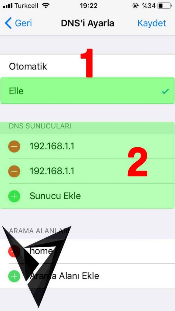 iphone-dns-ayarlari