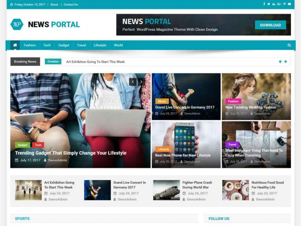 news-portal-wordpress-teması