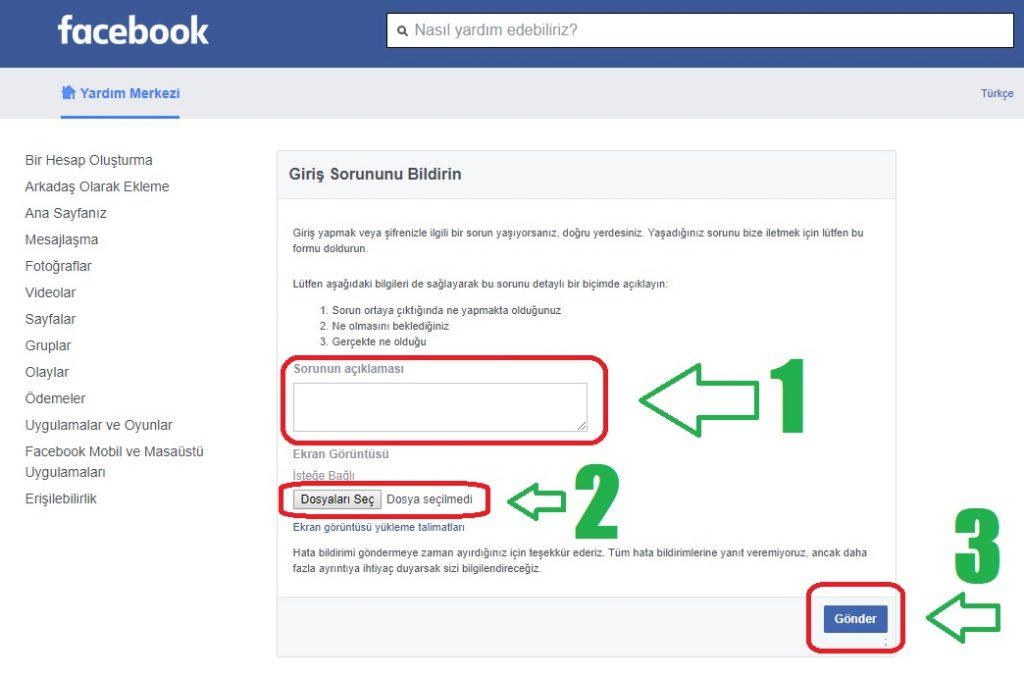 facebook mavi tik alma