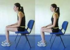 Sandalyeden kalkma egzersizi