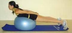 Pilates topuyla yüzüstü geriye esneme hareketi