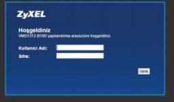zyxel vmg1312-t20b modem şifresi