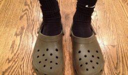 Crocs terlik terletir mi