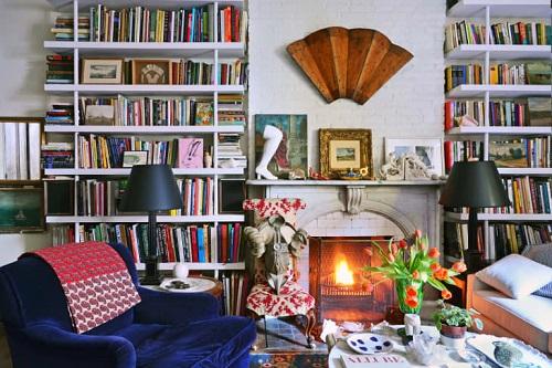 Salonda kitaplık nerede olmalı
