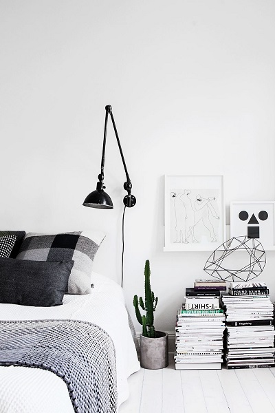 Küçük yatak oda dekorasyonu püf noktaları