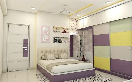 Dar yatak odası gardrop modelleri