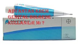 Advantan krem genital bölgede kullanılır mı
