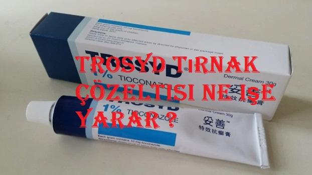dermo-trosyd tırnak solüsyonu